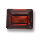 thumb image of 3.3ct Octagon Step Cut Red Pyrope Garnet (ID: 462188)