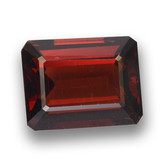 thumb image of 2.7ct Octagon Step Cut Red Pyrope Garnet (ID: 462211)