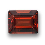 thumb image of 2.8ct Octagon Step Cut Red Pyrope Garnet (ID: 462213)