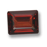 thumb image of 3.1ct Octagon Step Cut Red Pyrope Garnet (ID: 462232)