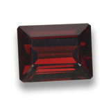 thumb image of 3.5ct Octagon Step Cut Red Pyrope Garnet (ID: 462235)