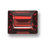 thumb image of 3.5ct Octagon Step Cut Red Pyrope Garnet (ID: 462237)