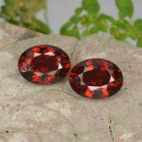 thumb image of 3.2ct Oval Facet Red Pyrope Garnet (ID: 466167)