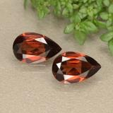 thumb image of 0.8ct Pear Facet Red Pyrope Garnet (ID: 487882)
