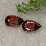 thumb image of 0.9ct Pear Facet Red Pyrope Garnet (ID: 487955)