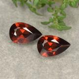 thumb image of 1ct Pear Facet Red Pyrope Garnet (ID: 487958)
