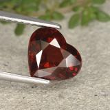 thumb image of 2.4ct Heart Facet Red Pyrope Garnet (ID: 495449)