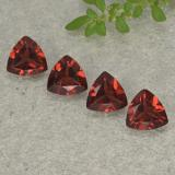 thumb image of 0.8ct Trillion Facet Red Pyrope Garnet (ID: 498918)