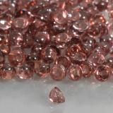0.07 ct Round Cabochon Scarlet Red Tone Pyrope Garnet Gem 2.11 mm  (Photo B)
