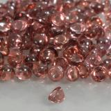 0.07 ct Round Cabochon Scarlet Red Tone Pyrope Garnet Gem 2.11 mm  (Photo C)
