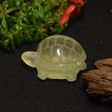 thumb image of 24ct Carved Turtle Lemon Quartz (ID: 239516)