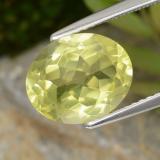 thumb image of 3.5ct Oval Facet Lemon Quartz (ID: 305065)