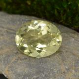 thumb image of 3.1ct Oval Facet Lemon Quartz (ID: 305072)