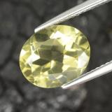 thumb image of 3.9ct Oval Facet Lemon Quartz (ID: 306996)