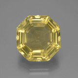 thumb image of 14.7ct Asscher Cut Lemon Quartz (ID: 394641)