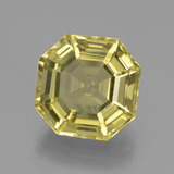 thumb image of 9.2ct Asscher Cut Lemon Quartz (ID: 394889)