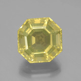 thumb image of 8.1ct Asscher Cut Lemon Quartz (ID: 394892)
