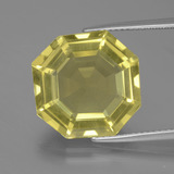 thumb image of 11.8ct Asscher Cut Lemon Quartz (ID: 394974)