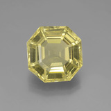 thumb image of 7.4ct Asscher Cut Lemon Quartz (ID: 395009)