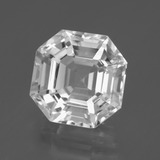 thumb image of 7.9ct Огранка Ашер Clear White Кварц (ID: 395368)