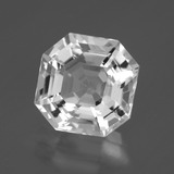 thumb image of 7.7ct Asscher Cut Clear White Quartz (ID: 395377)