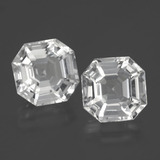 thumb image of 8.2ct Asscher Cut White Quartz (ID: 395384)