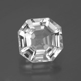 thumb image of 7ct Asscher Cut White Quartz (ID: 395478)
