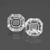 thumb image of 9.6ct Asscher Cut White Quartz (ID: 395739)