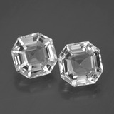 thumb image of 9.2ct Asscher Cut White Quartz (ID: 395741)