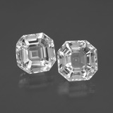 thumb image of 8.8ct Asscher Cut White Quartz (ID: 395765)