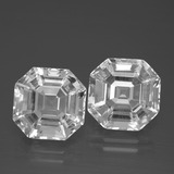 thumb image of 11.2ct Asscher Cut White Quartz (ID: 395773)
