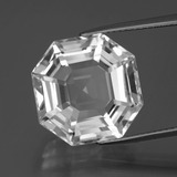 thumb image of 13.5ct Asscher Cut White Quartz (ID: 395856)