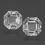 thumb image of 15.5ct Asscher Cut White Quartz (ID: 395861)