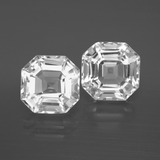 thumb image of 7.3ct Asscher Cut White Quartz (ID: 395872)