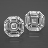 thumb image of 11.1ct Asscher Cut White Quartz (ID: 395875)