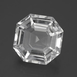 thumb image of 11ct Asscher Cut White Quartz (ID: 395990)