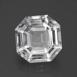 thumb image of 9.4ct Огранка Ашер Clear White Кварц (ID: 395993)
