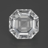 thumb image of 13.2ct Taglio Asscher Clear White Quarzo (ID: 396017)