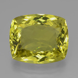 thumb image of 22.5ct Cushion-Cut Lemon Quartz (ID: 396501)