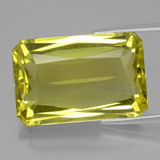 thumb image of 23.2ct Octagon / Scissor Cut Lemon Quartz (ID: 398914)