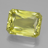 thumb image of 16.2ct Octagon / Scissor Cut Lemon Quartz (ID: 398975)
