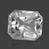 thumb image of 11.2ct Octagon Facet White Quartz (ID: 398986)