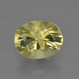 thumb image of 2.7ct Oval Facet Lemon Quartz (ID: 401075)