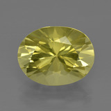 thumb image of 5.2ct Oval Diamond-Cut Lemon Quartz (ID: 401432)