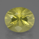 thumb image of 10.7ct Oval Diamond-Cut Lemon Quartz (ID: 401526)