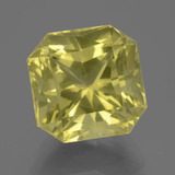 thumb image of 10.5ct Octagon / Scissor Cut Lemon Quartz (ID: 404917)