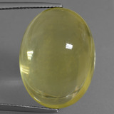 thumb image of 36.4ct Oval Cabochon Lemon Quartz (ID: 406003)