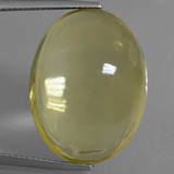 thumb image of 33ct Oval Cabochon Lemon Quartz (ID: 406013)