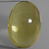 thumb image of 55.4ct 椭圆形凸面型 Deep Yellow 石英 (ID: 406099)