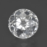 thumb image of 5.1ct Round Petal Cut White Quartz (ID: 408477)